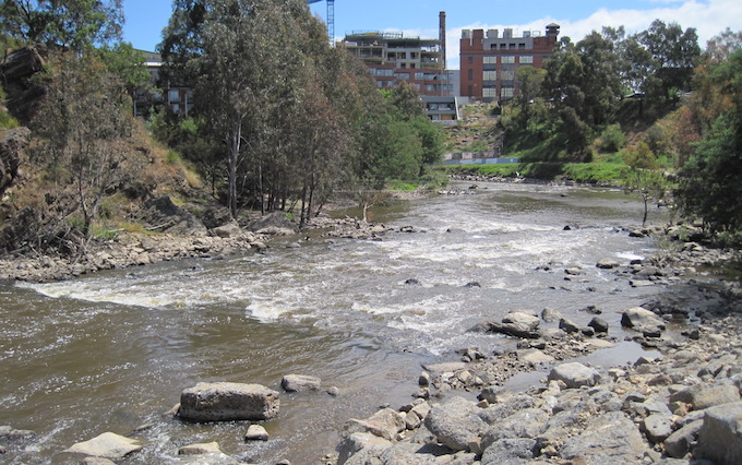 Dights Falls, Abbotsford